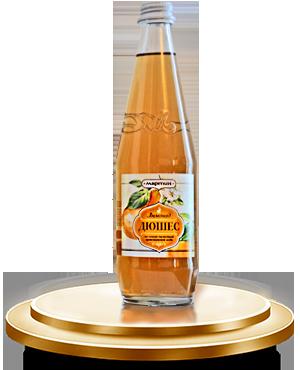 Безалкогольный сильногазированный напиток «ДЮШЕС» с ароматом груши