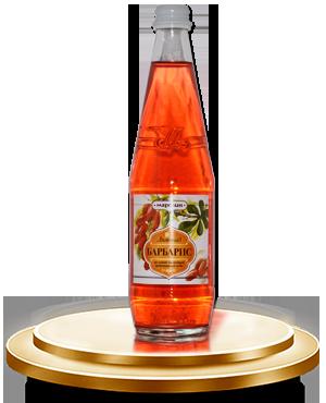 Безалкогольный сильногазированный напиток «БАРБАРИС» с ароматом барбариса